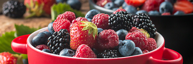 Five Health Benefits of Berries